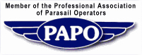 Member of the Professional Association of Parasail Operators